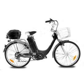 """Bicicleta E-GO CITY 1 250W 24"""" Sin marchas"""