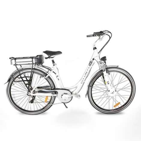 """Bicicleta E-GO CITY F1 250W 28"""""""