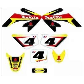 Adhesivos Pitbike Suzuki Makita CRF50