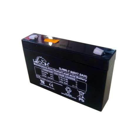 Bateria 6V 7Ah plomo