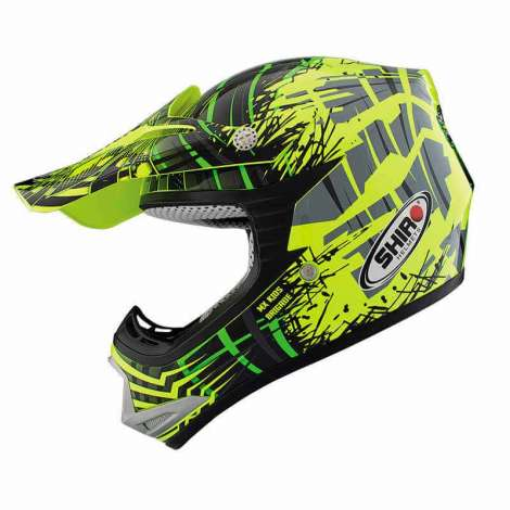 Casco Cross Infantil MX Brigade Shiro