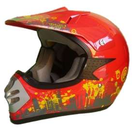 Casco Cross Adulto Roan
