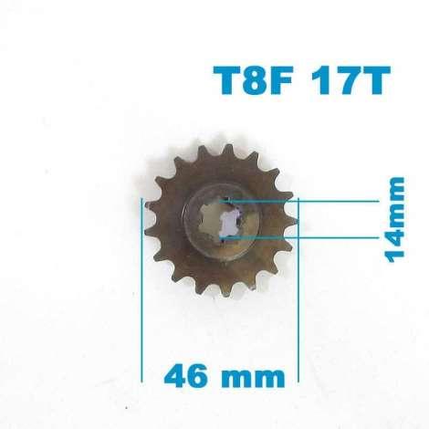 Piñon de Salida 17T 14mm T8F