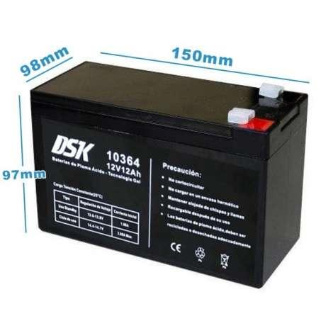 Bateria 12v 12ah patinete
