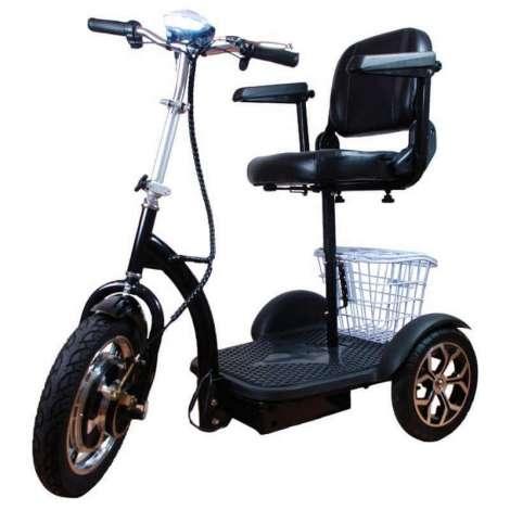 Triciclo eléctrico 500W movilidad reducida