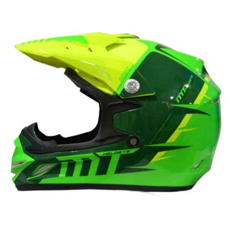 Casco MT MX-2 SPEC FLUOR