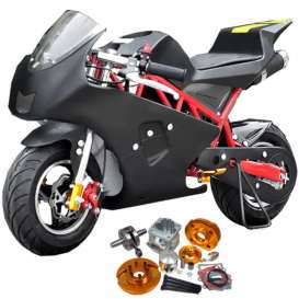 miniMoto pocketBike PS50 49cc Big Bore