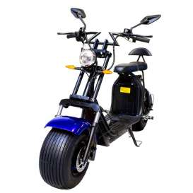 Scooter Citycoco Eléctrico 2000W Doble Batería