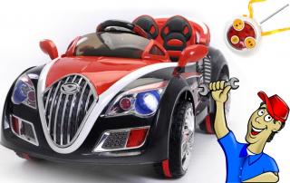 Montaje Ultimate Roadster, Coche de bateria para niños