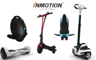 Inmotion son especialistas en vehículos inteligentes para adultos y niños