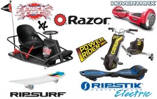 Razor presenta los nuevos vehiculos electricos del 2016