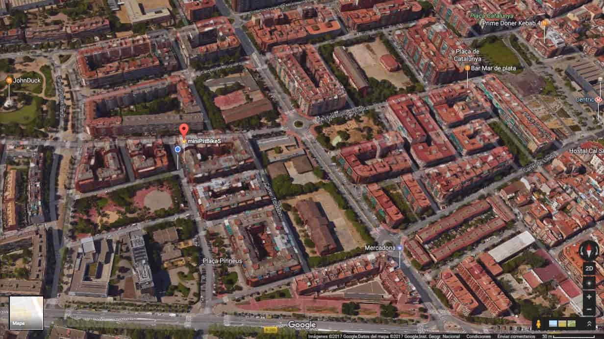 miniPitBikes en el Prat de Llobregat