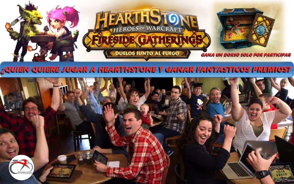 Hearthstone y miniPitBikeS evento con premio