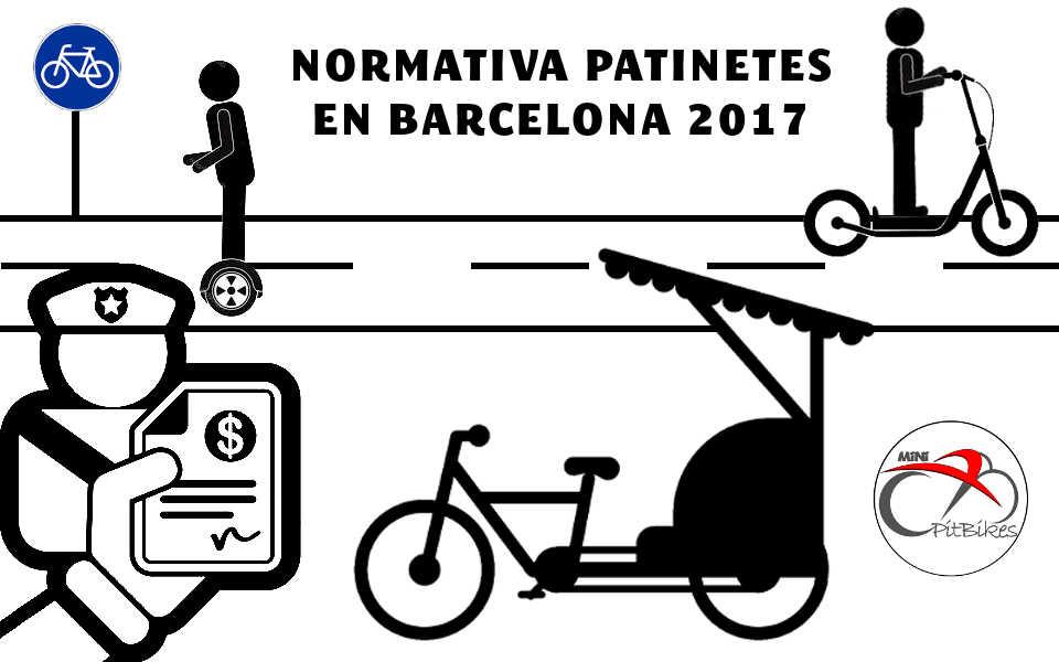 Normativa de patines eléctricos ya se aplica en Barcelona