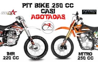 pitbikes 250cc casi agotadas