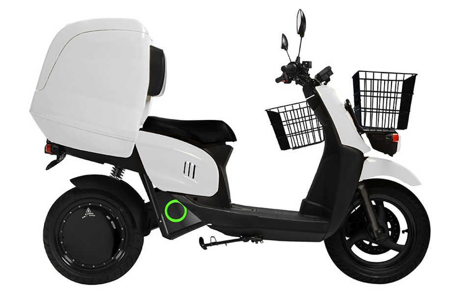 La moto de reparto mas usada por empresas de transporte urgente