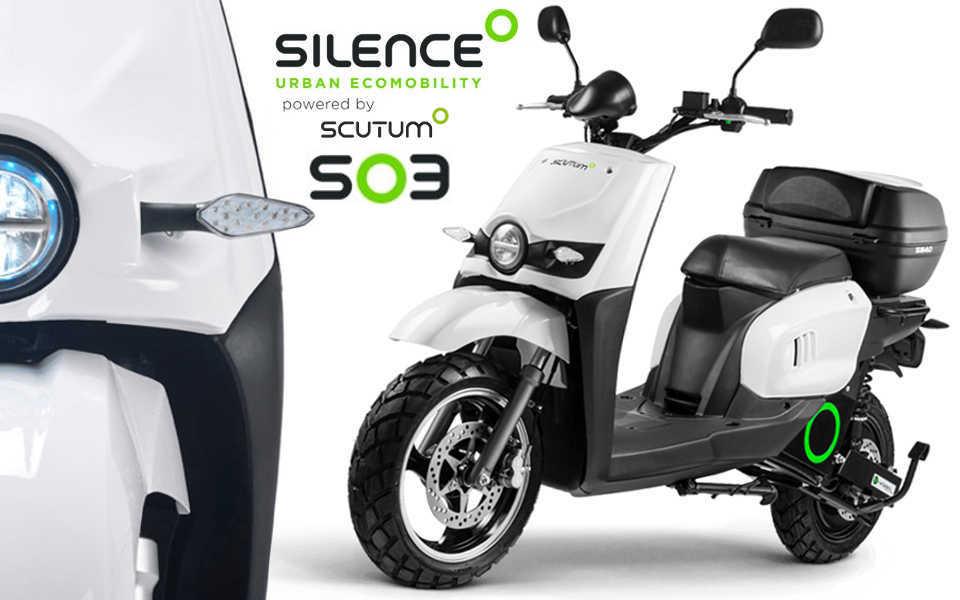 Moto electrica Scutum Silence S03