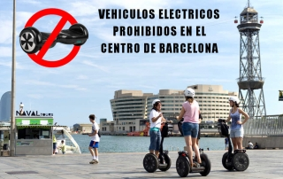 Se restringe el uso de motos electricas y patinetes de motor en el casco antiguo