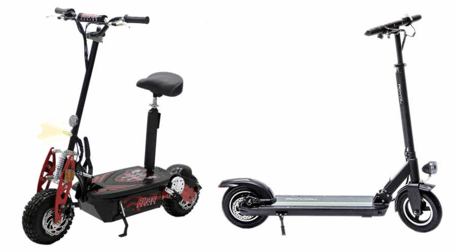 Patinete electrico scooter Roan 1000W