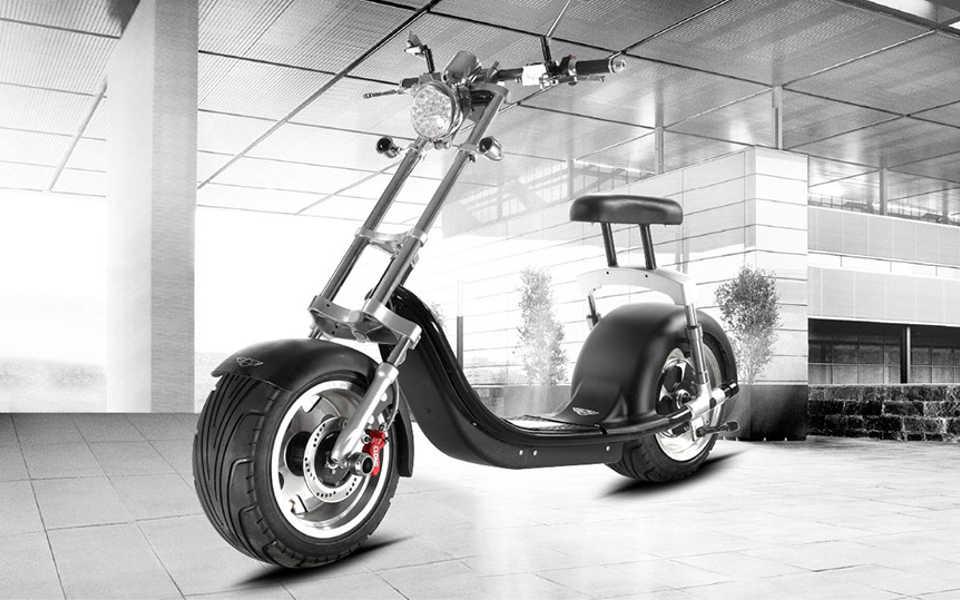 Moto electrica Harley 1000W alta calidad