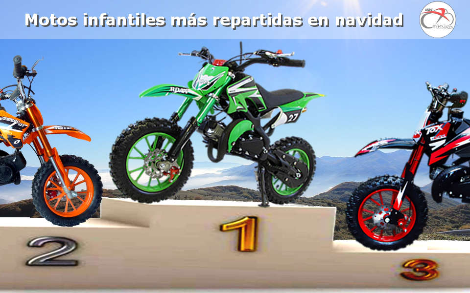 Las mini Motos Cross 49cc Orion 27 mas repartidas en navidades 2017
