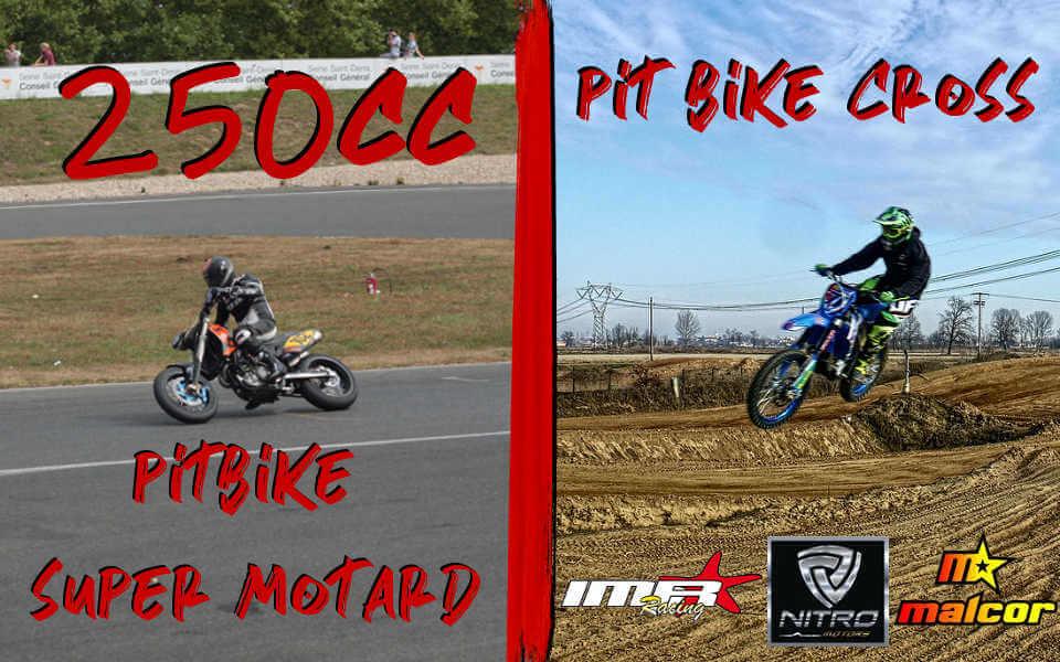 Las motos 250cc de IMR, Nitro y Malcor