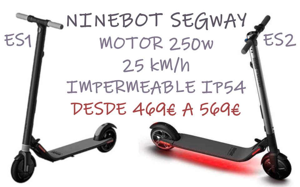 NINEBOT SEGWAY EL PATINETE ELECTICO MAS ELEGANTE CON 12kG