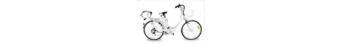 Bicicletas eléctricas y manuales